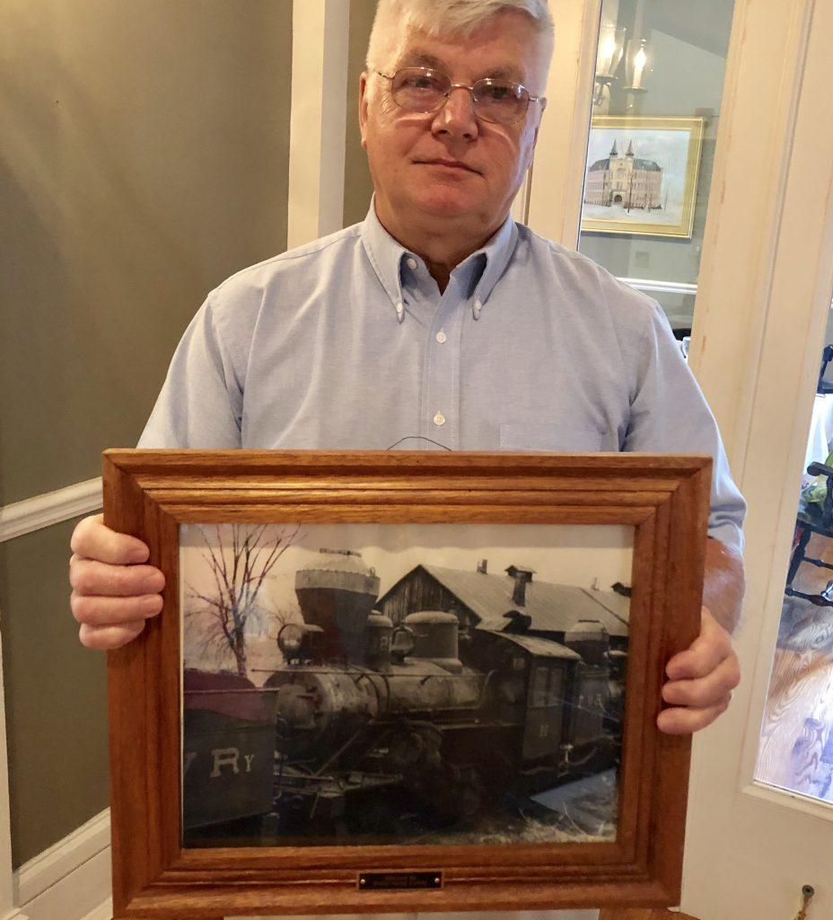 Dennis Sturdevant from the Sheffield Depot Preservation
